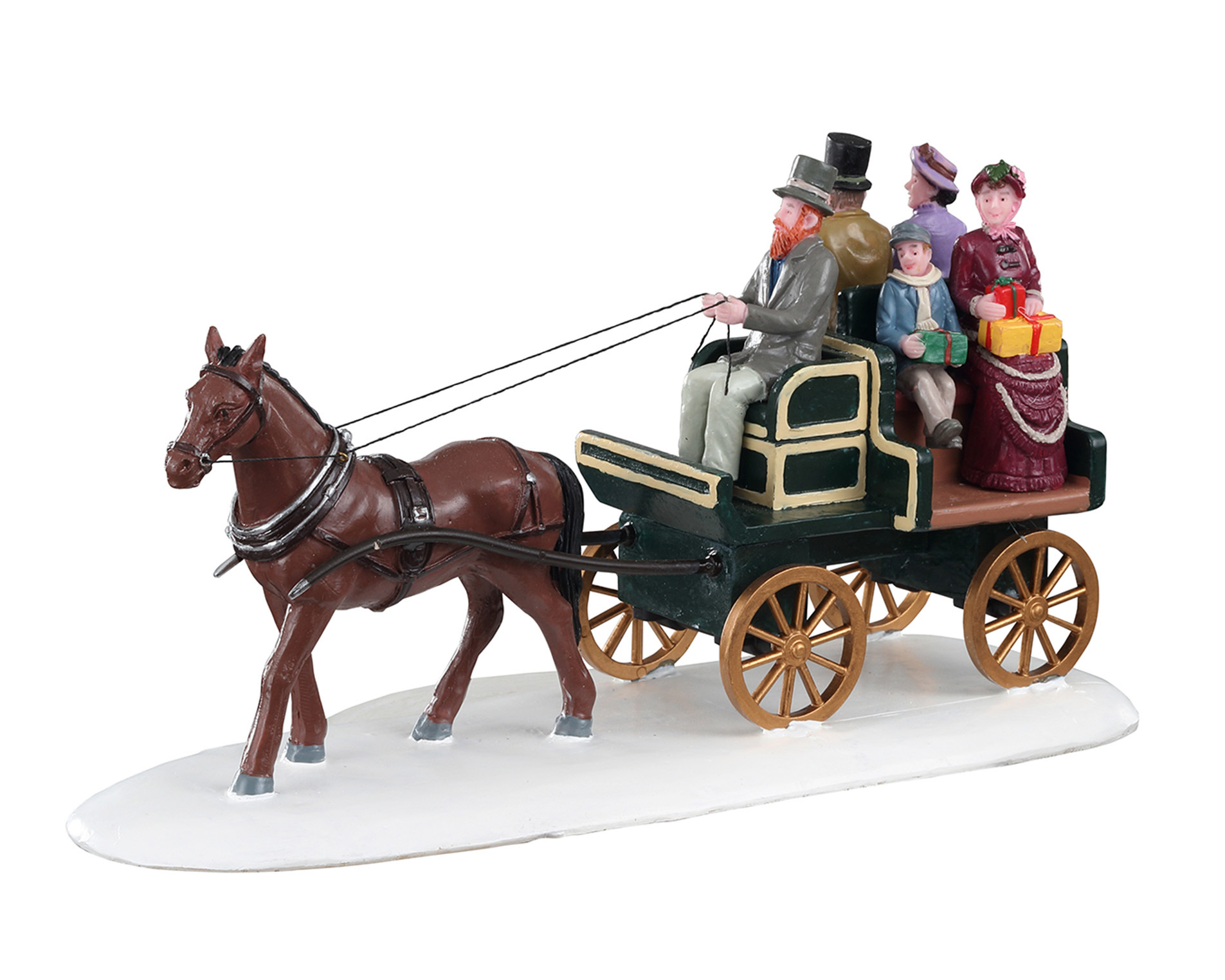 Lemax Village Collection Jaunting Car # 03516