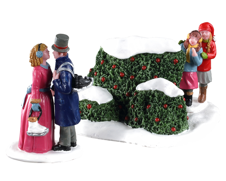 Lemax Village Collection Skating Romance Set of 2 # 03525