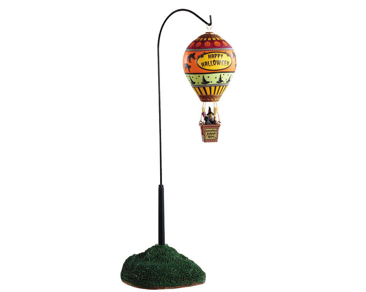 Lemax Spooky Town Esmeralda's Balloon Rides Battery Operated # 04705