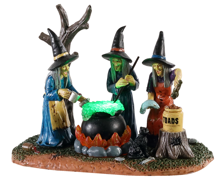 Lemax Spooky Town Teamwork Battery Operated # 04709