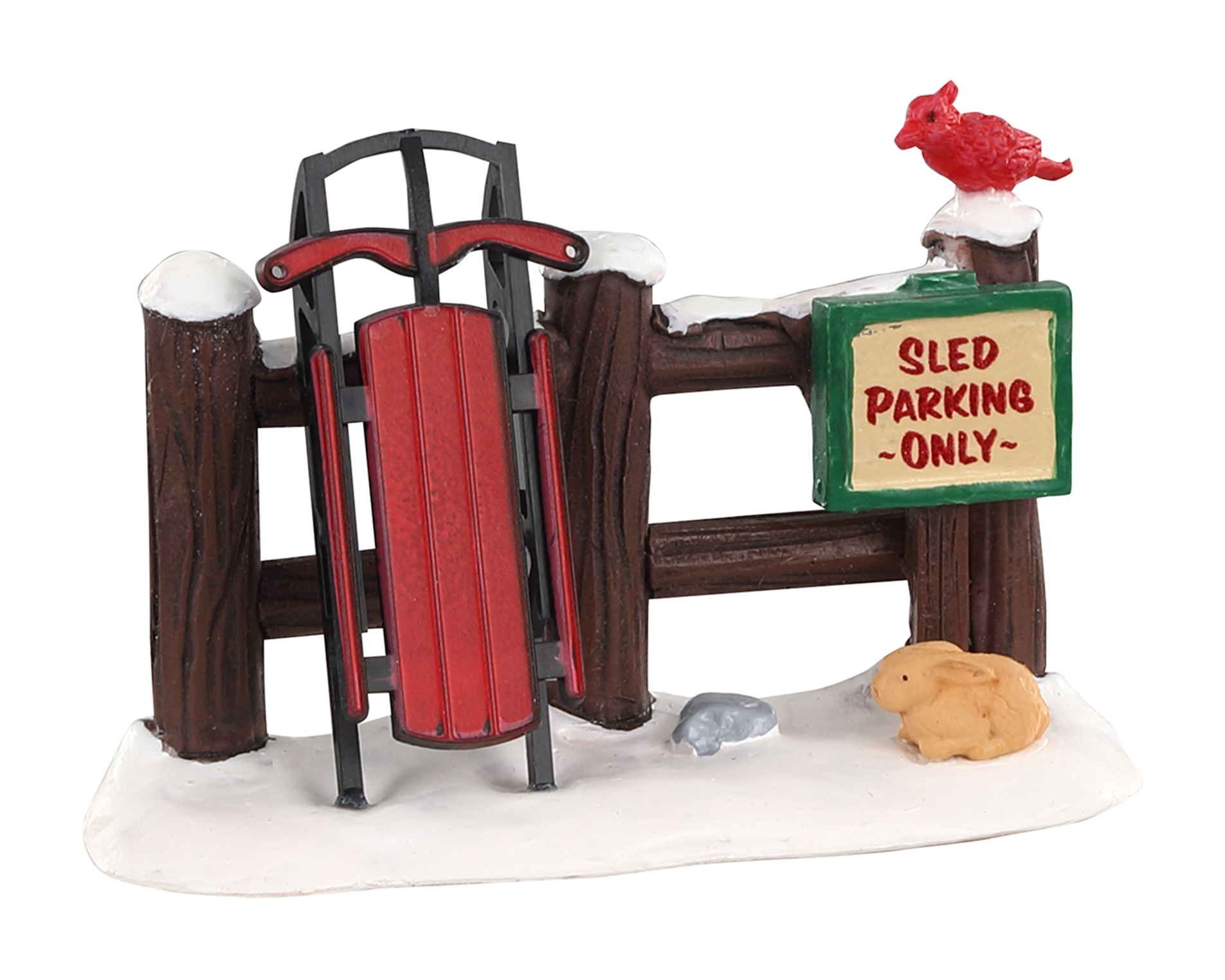 Lemax Village Collection Sled Parking Only # 04740