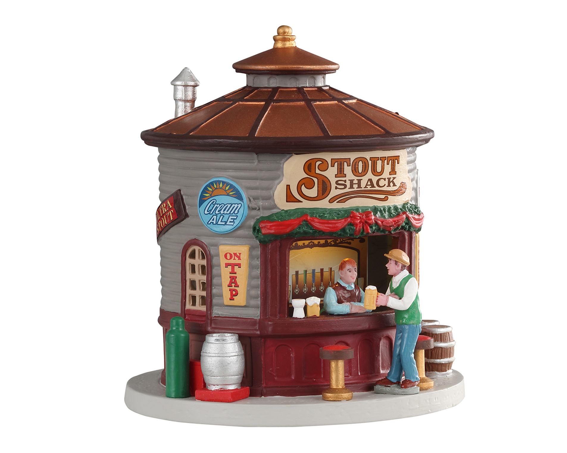Lemax Village Collection The Stout Shack Battery Operated # 04745