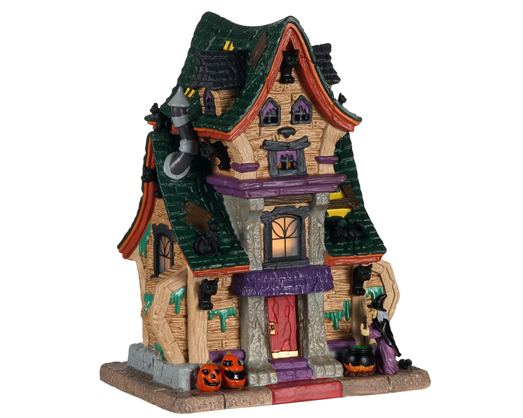 Lemax Spooky Town Wanda's Wicked Home # 05613