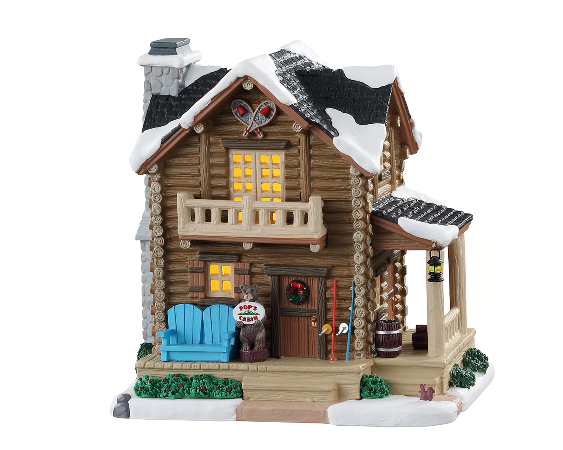 Lemax Village Collection Pop's Cabin # 05627