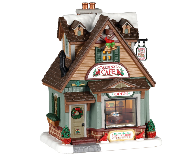 Lemax Village Collection Cardinal Cafe # 05628