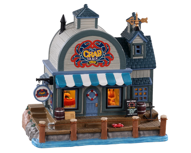 Lemax Village Collection The Crab Shack # 05630