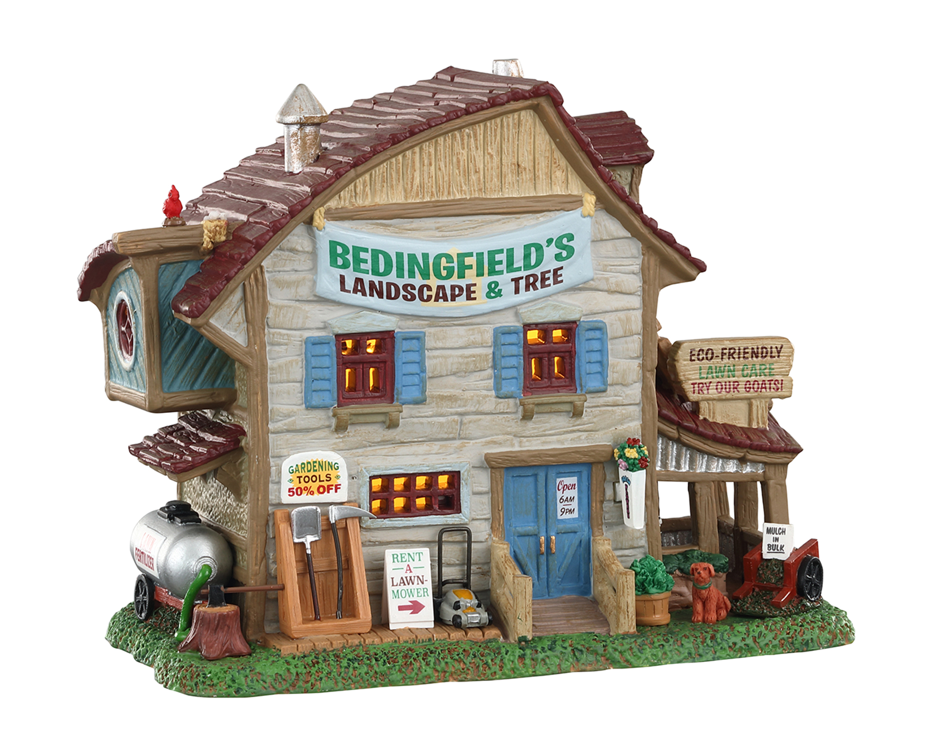 Lemax Village Collection Bedingfield's Landscape & Tree # 05636