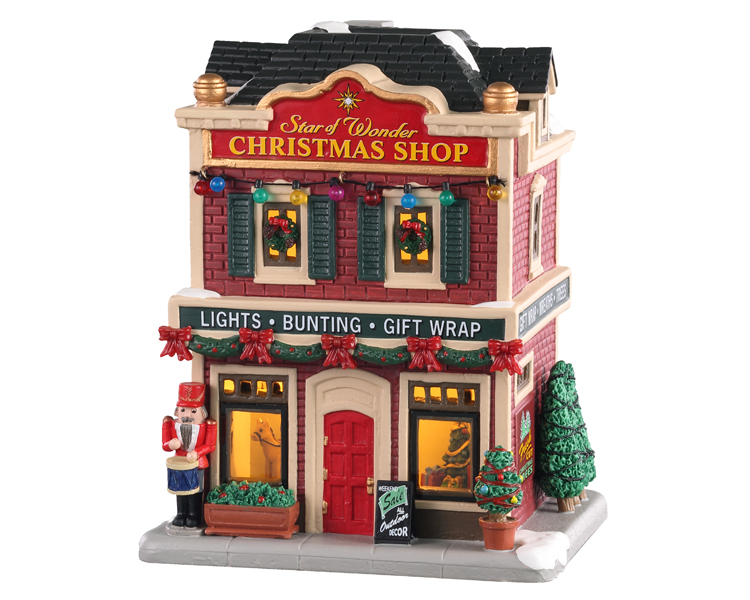 Lemax Village Collection Star Of Wonder Christmas Shop # 05646