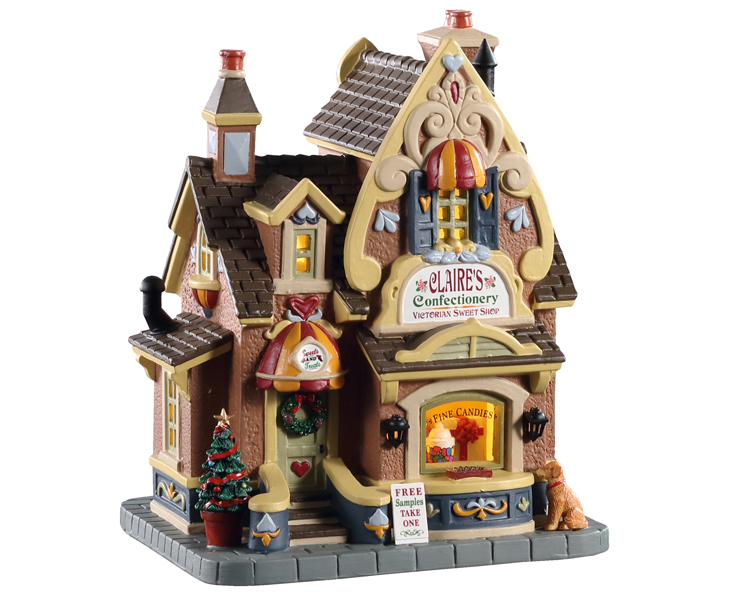 Lemax Village Collection Claire's Confectionery # 05665