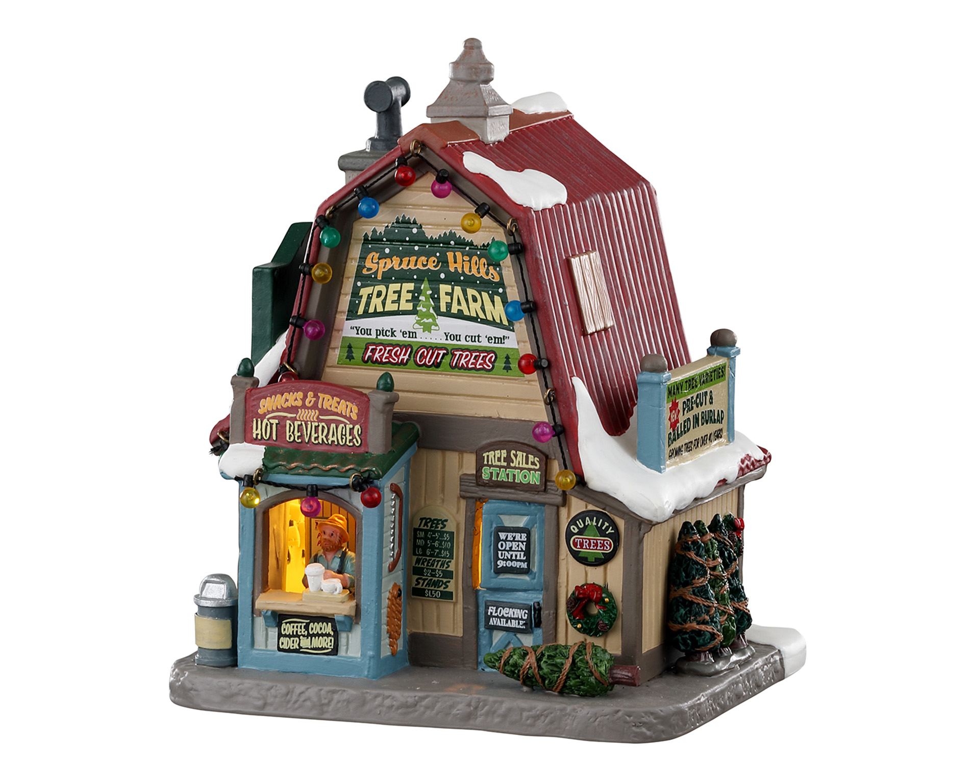 Lemax Village Collection Spruce Hills Tree Farm # 05675