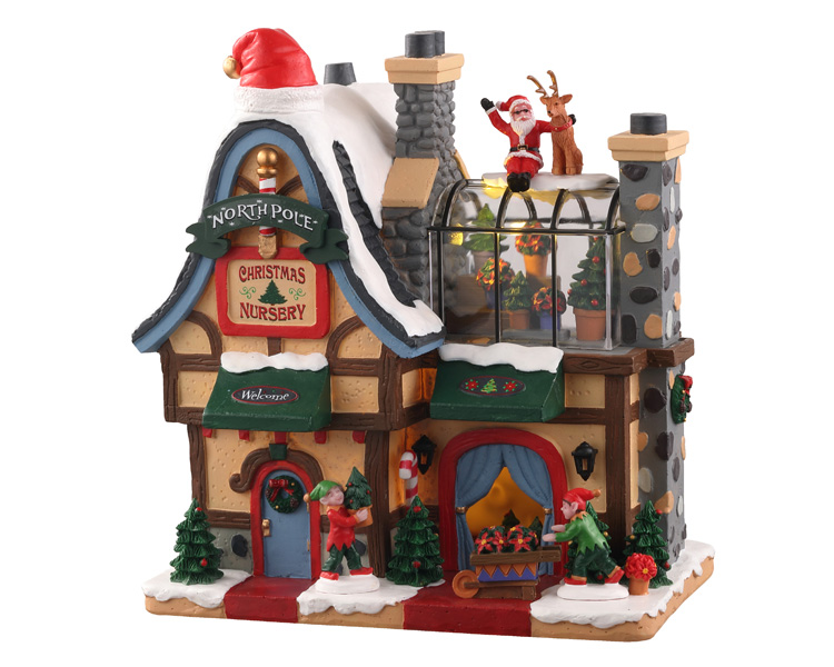Lemax Village Collection North Pole Nursery Battery Operated # 05677