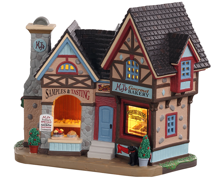 Lemax Village Collection Mj's Gourmet Bakery # 05694