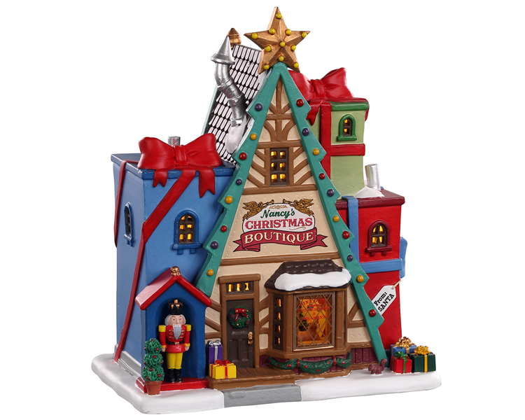 Lemax Village Collection Nancy's Christmas Boutique # 05696
