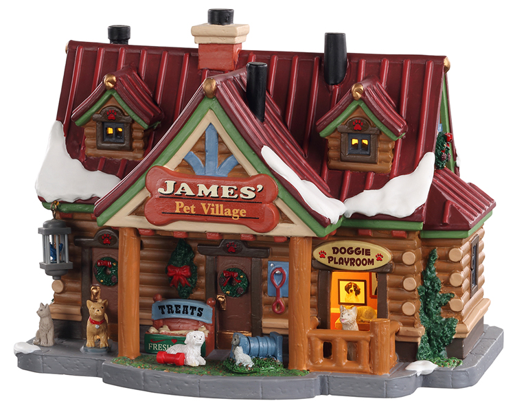 Lemax Village Collection James' Pet Village # 05697