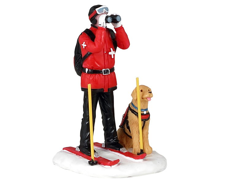 Lemax Village Collection Ski Patrol # 12028