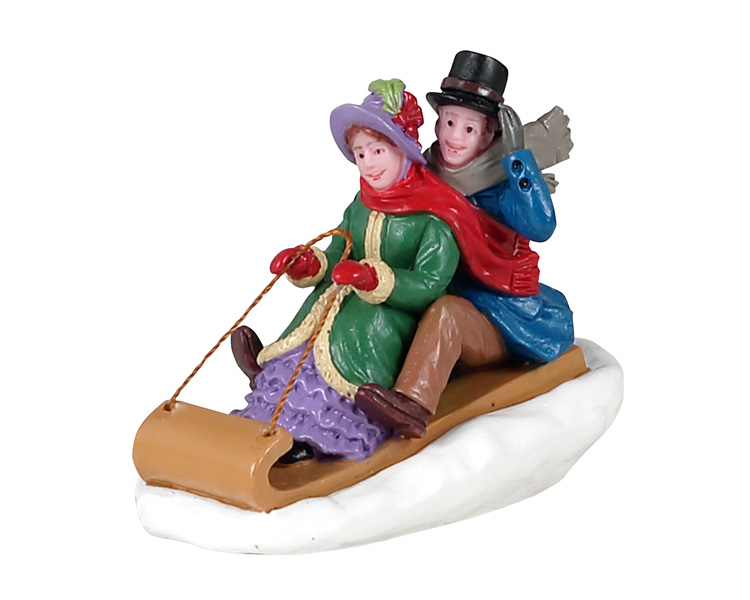 Lemax Village Collection Victorian Toboggan Ride # 12033