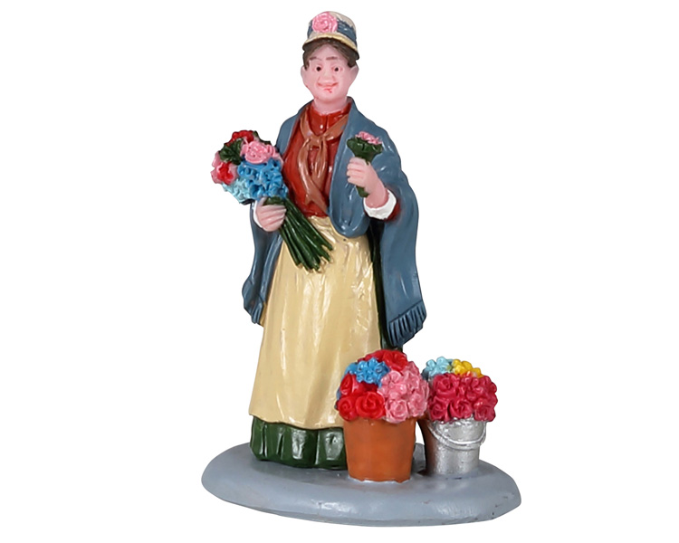 Lemax Village Collection Flower Seller # 12041