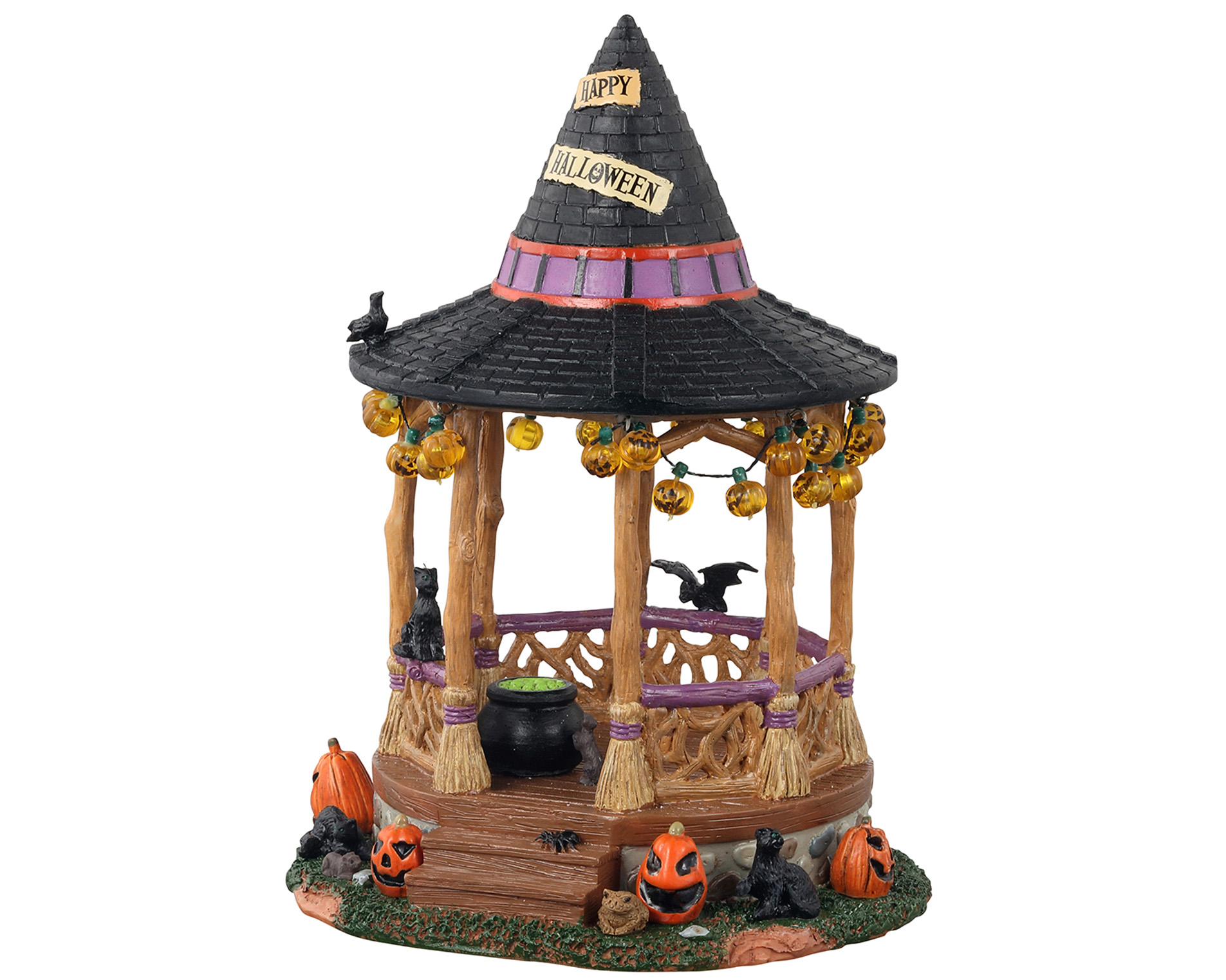 Lemax Spooky Town Witch Gazebo # 13553