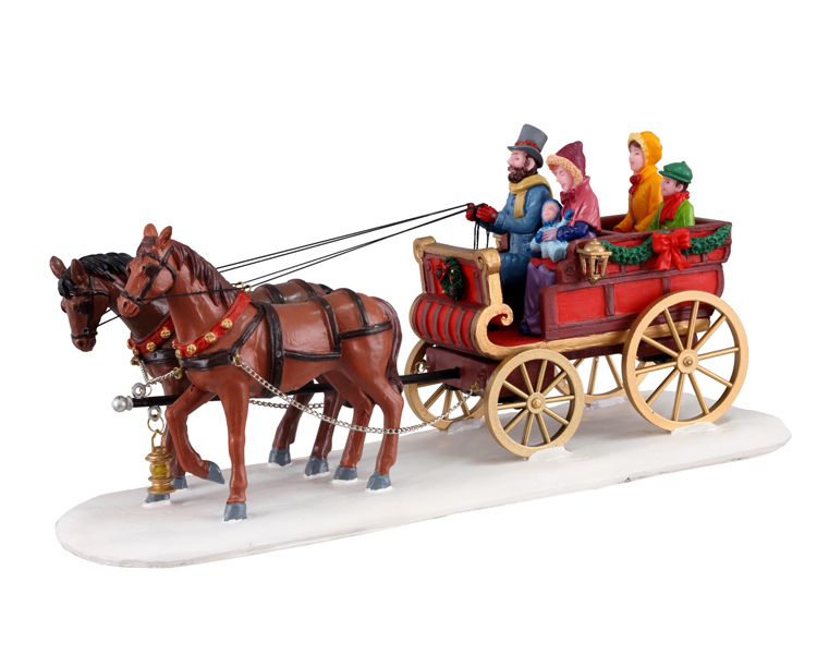 Lemax Village Collection Carriage Cheer # 13562