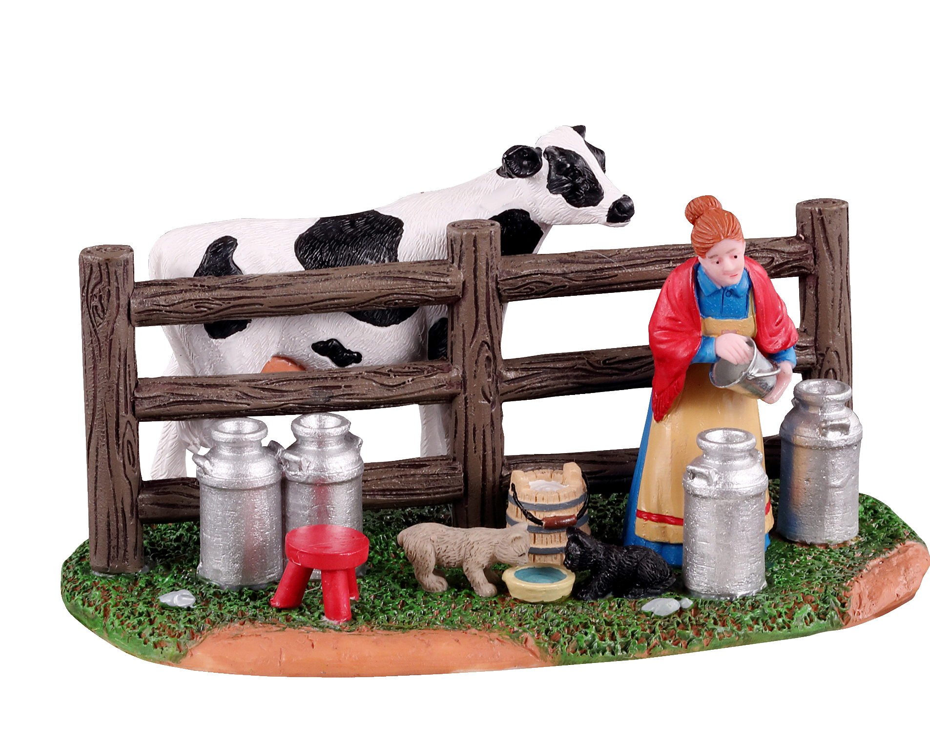 Lemax Village Collection Victorian Dairy Farmer # 13563