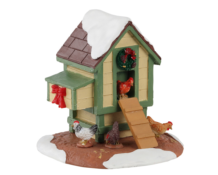 Lemax Village Collection Christmas Coop # 13564