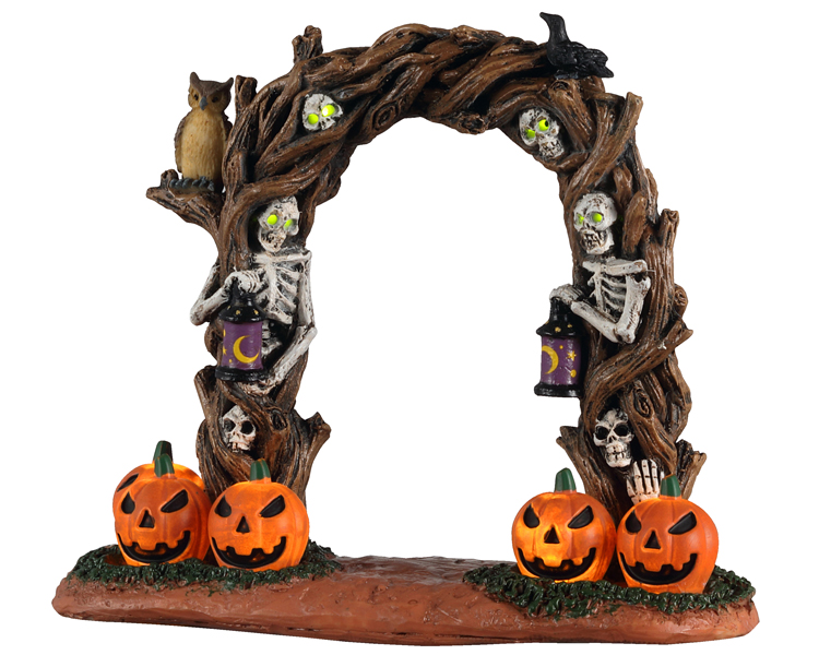 Lemax Spooky Town Horror Arch Battery Operated # 14826