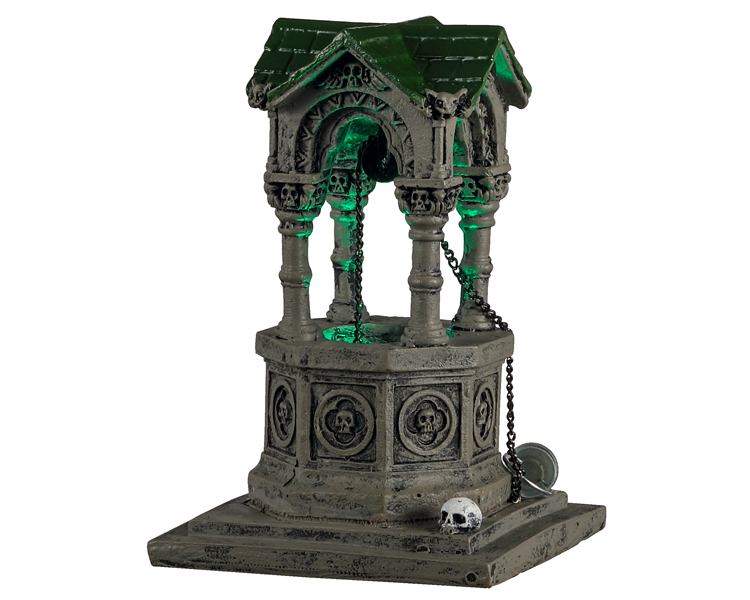 Lemax Spooky Town Gothic Well Battery Operated # 14828