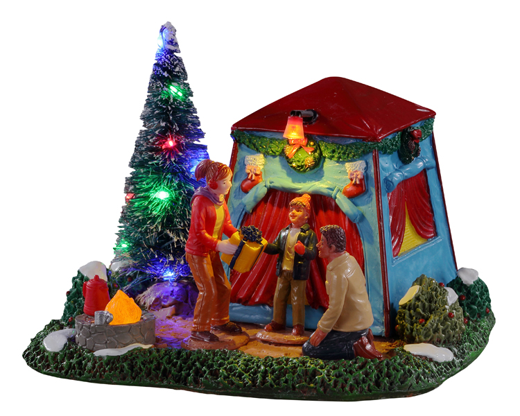 Lemax Village Collection The Festive Outdoors Battery Operated # 14840