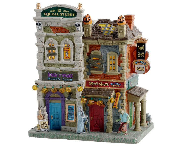 Lemax Spooky Town Squeal Street Blues # 15731