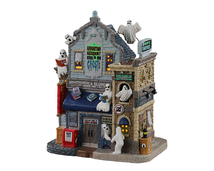 Lemax Spooky Town Apparition Academy # 15732