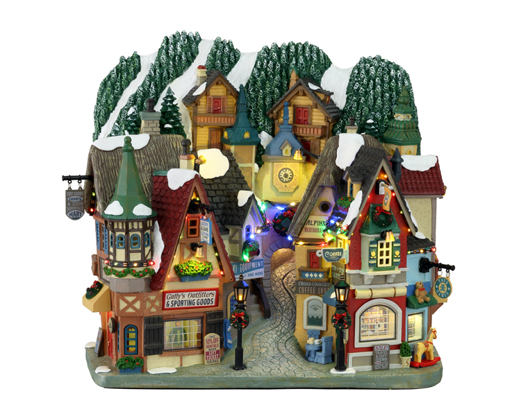 Lemax Village Collection Hinterland Holiday Battery Operated # 15738