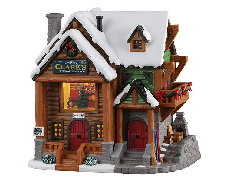 Lemax Village Collection Clark's Snowcap Retreat # 15747