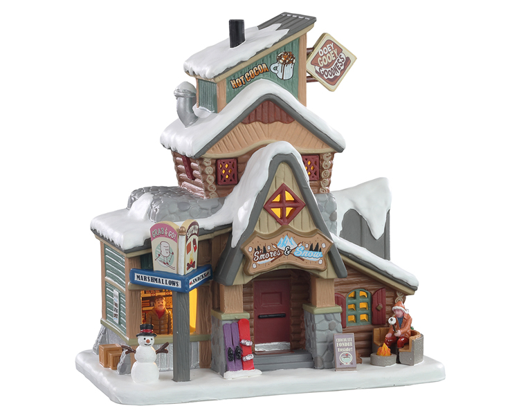 Lemax Village Collection S'Mores & Snow # 15749