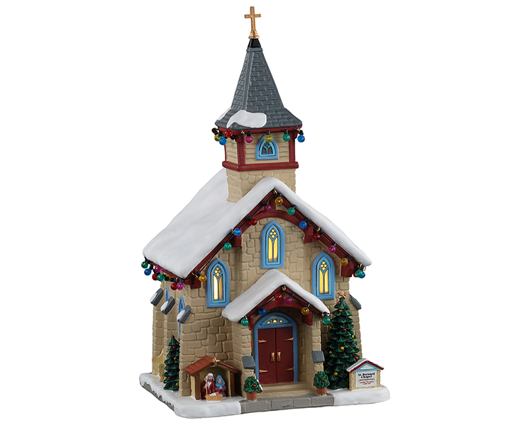 Lemax Village Collection St. Bernard Chapel # 15750