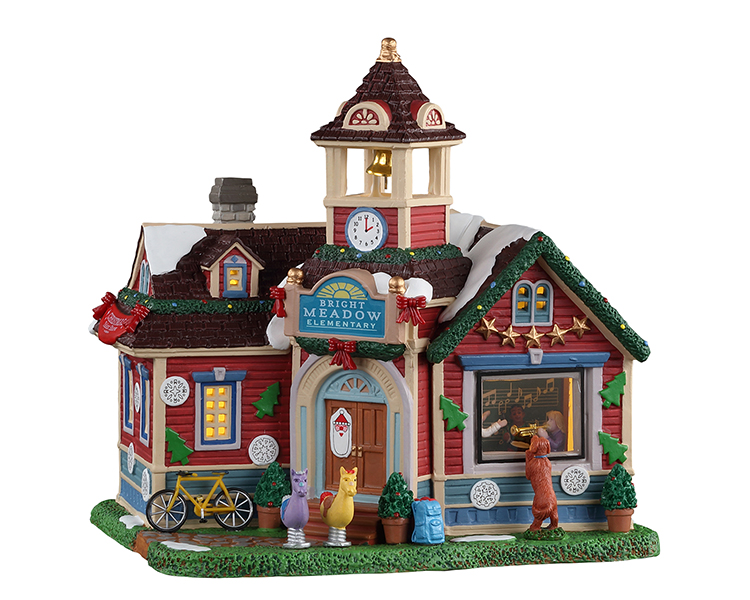 Lemax Village Collection Bright Meadow Elementary # 15766