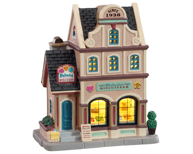Lemax Village Collection Belinda's Biscuiteer # 15768