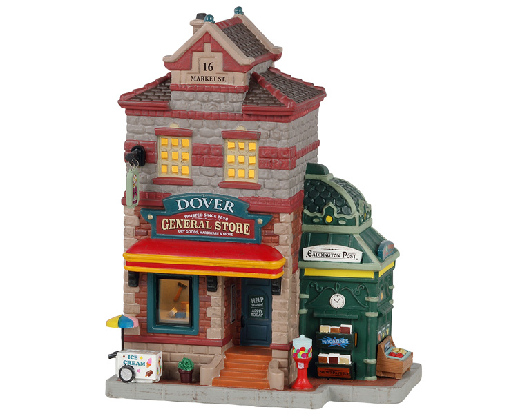 Lemax Village Collection Dover General Store and Newsstand # 15773