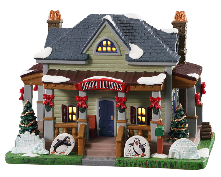 Lemax Village Collection The Inviting Porch Home # 15774