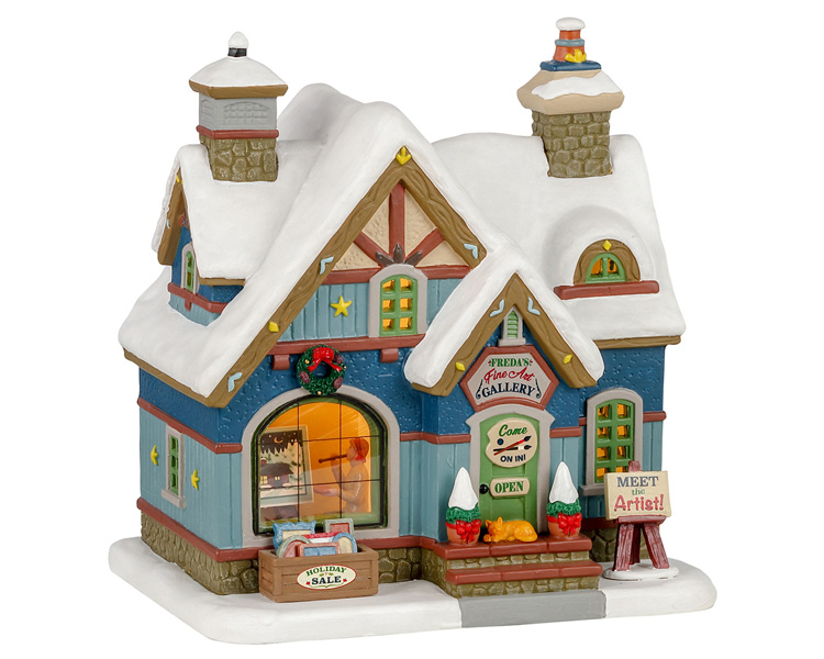 Lemax Village Collection Freda's Fine Art # 15775