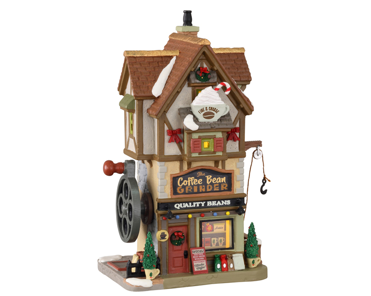 Lemax Village Collection The Coffee Bean Grinder # 15780