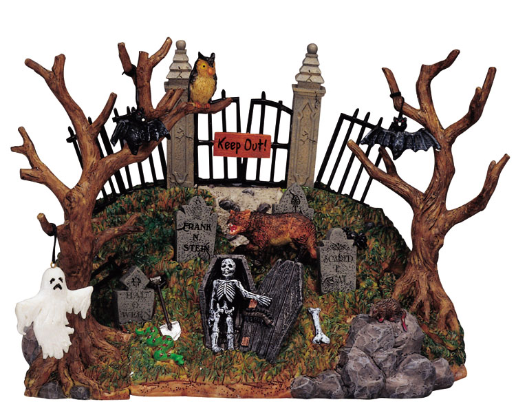 Lemax Spooky Town Spooky Knoll # 33408