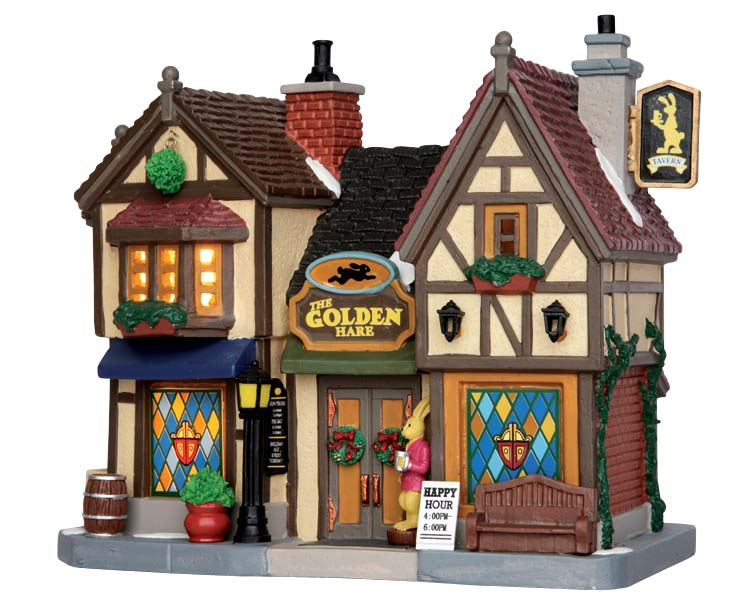 Lemax Village Collection The Golden Hare Tavern # 55019