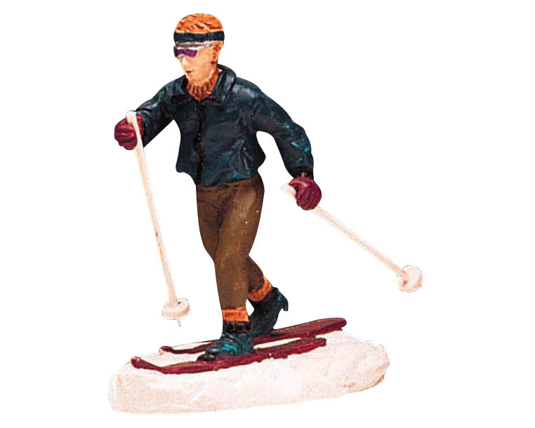 Lemax Village Collection Cross Country Skiing # 62170