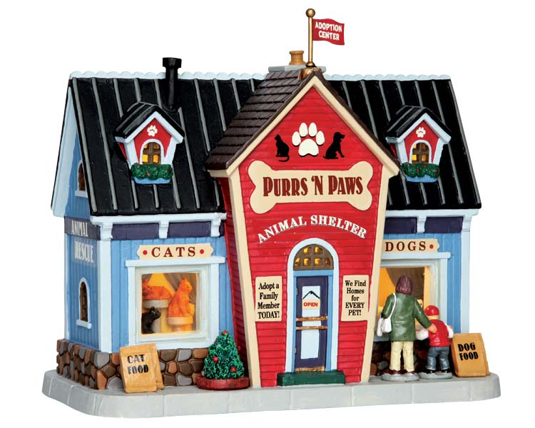 Lemax Village Collection Purrs 'N Paws # 65152