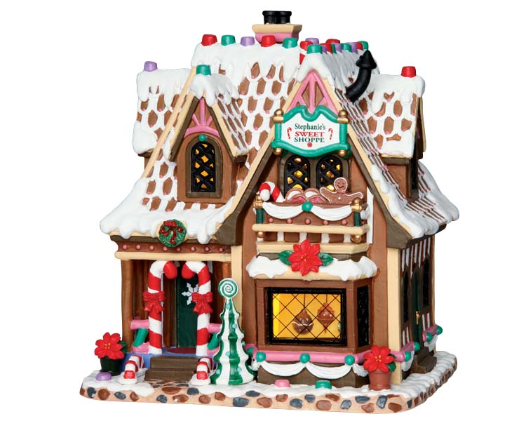Lemax Village Collection Stephanie's Sweet Shoppe # 65153