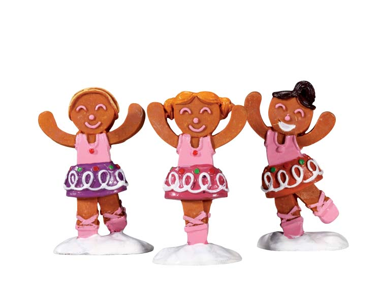 Lemax Village Collection Dancing Sugar Plums Set of 3 # 72481