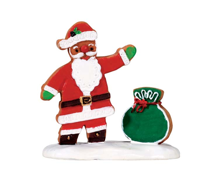 Lemax Village Collection Gingerbread Santa # 72482
