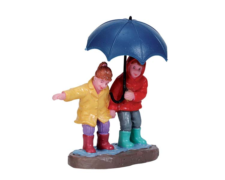 Lemax Village Collection Staying Dry # 72501