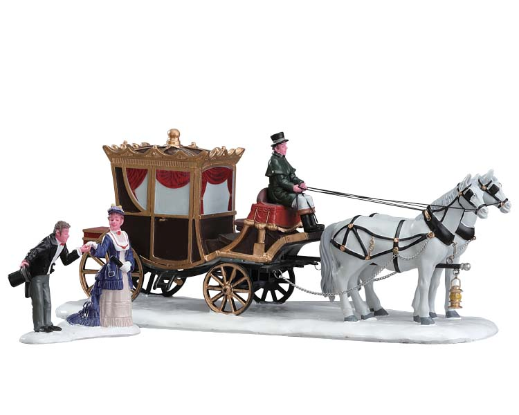 Lemax Village Collection The Duchess Arrives Set of 2 # 73309
