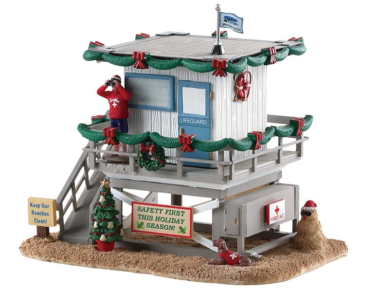 Lemax Village Collection Lifeguard Station # 73311